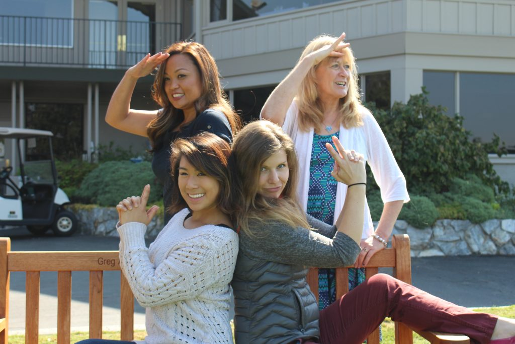 registered dietitians striking a pose