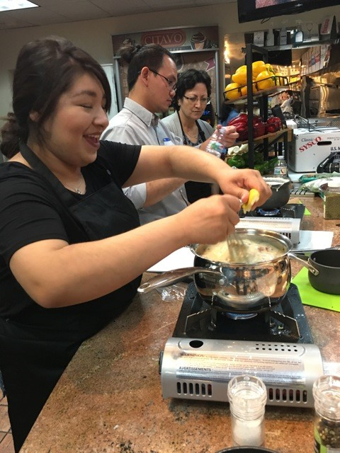 proper nutrition cooking class